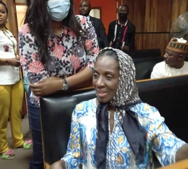 Former Governor, Ikedi Ohakim's Secret Lover Arraigned In Court [Photos]