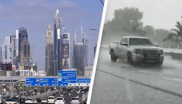 Helping nature: Dubai makes own fake rain to bring down heat