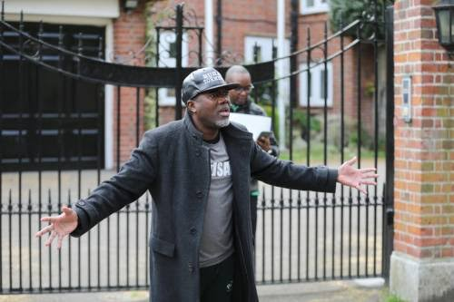 """""""He's Not In Abuja House,"""" Omokri Urges Nigerians In London To Find Buhari"""