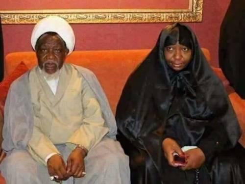 El-Zakzaky and wife Zeenat