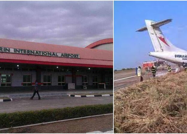 Many Passengers Escapes Death As Air Peace Plane Crashes At Ilorin Airport
