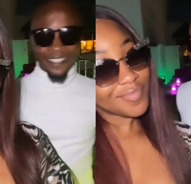 Massive Jubilation As Erica And Laycon Finally Reconcile [Video]