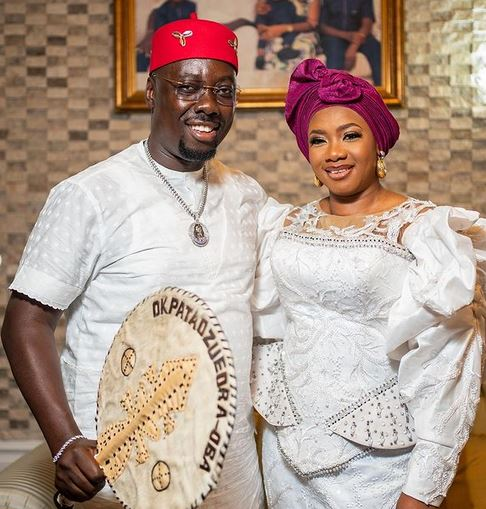 My Husband Is Filled With Grace – Obi Cubana's Wife Reacts To Ritual Claims