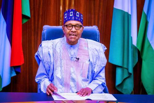Nigeria Has Remained Together Only By God's Grace – Buhari