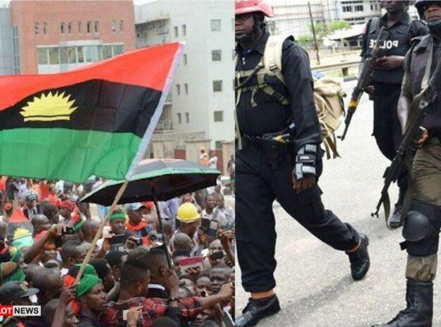 Nnamdi Kanu: Police, IPOB clash in Abuja
