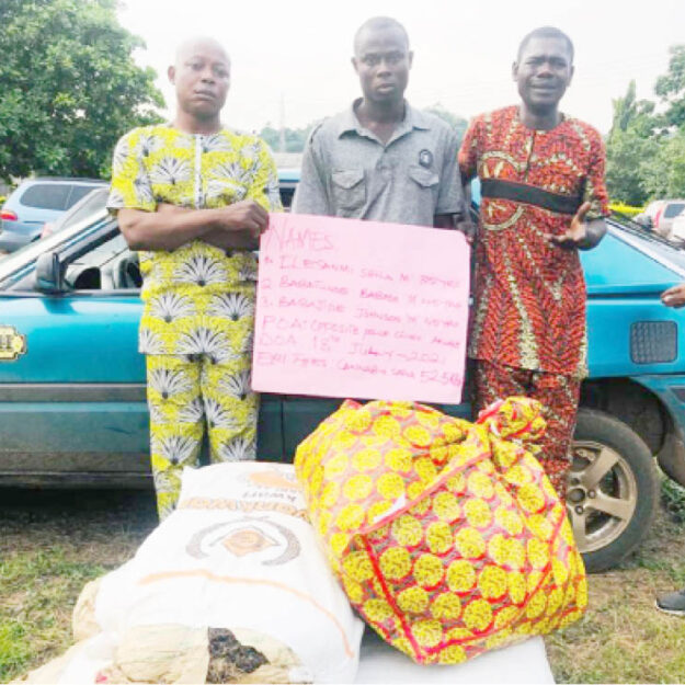 Ondo NURTW chair, 2 others arrested for drug trafficking