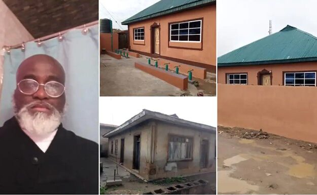 PHOTOS: Nigerian Pastor Renovates 60-Year-Old Mosque In Osun, Gives Reasons