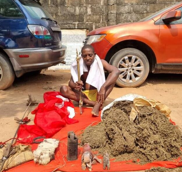 Police arrest 'ESN native doctor' in Imo, recover IED, charms