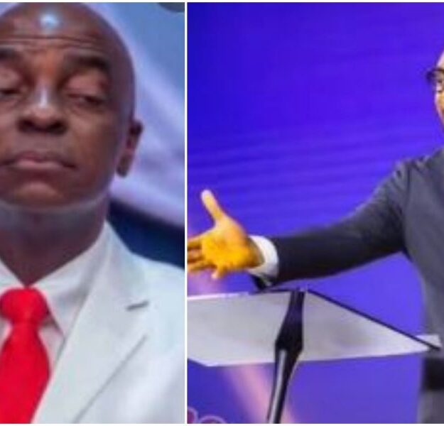 Sacked Pastor :COZA Pastor, Biodun Fatoyinbo poses an important question, backs David Oyedepo