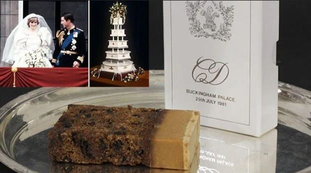 Slice Of Charles, Diana's Wedding Cake To Be Auctioned 40 years After