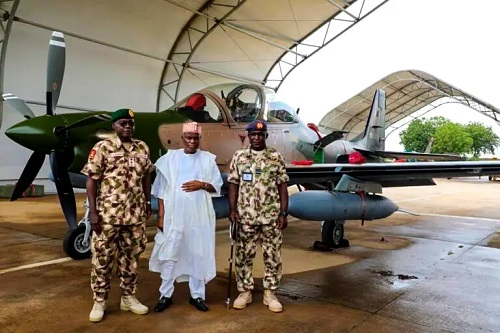 Super Tucano Aircraft Arrives Nigeria (Photos)