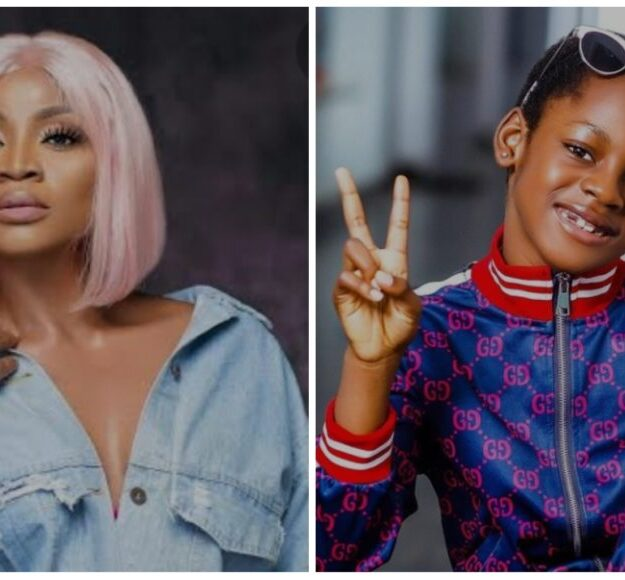 """""""Thank You For Coming Into My Empty Life"""" – Actress Uche Ogbodo Celebrates Her Daughter at 7"""