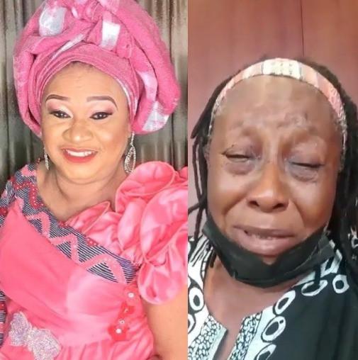 Veteran Actress, Patience Ozokwo Breaks Down In Tears Following The Death Of Her Colleague, Rachel Oniga