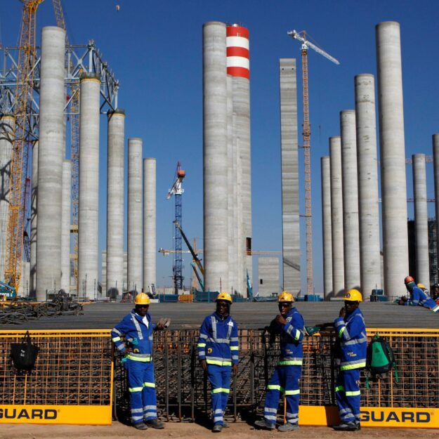 14 years after, coal-powered plant fully online in South Africa