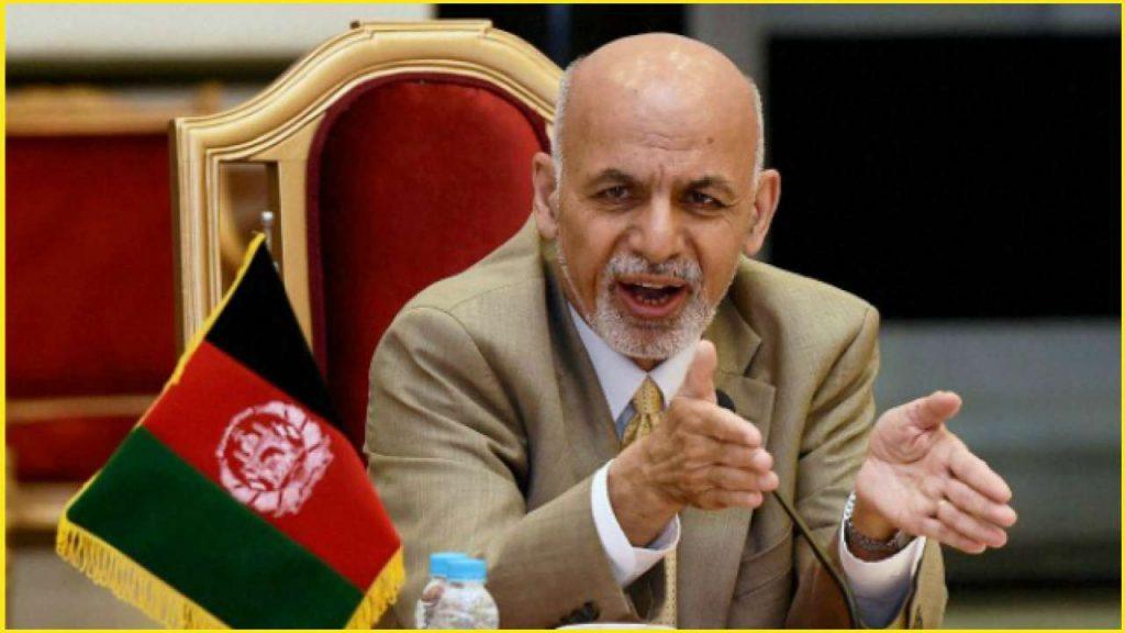 Afghan President Mohammad Ashraf Ghani: fled country
