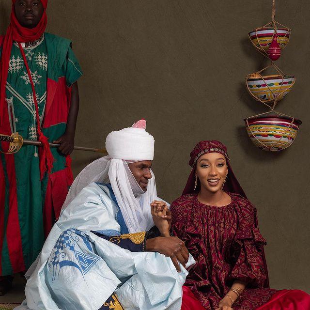 Buhari's Son, Yusuf Release His Pre-Wedding Photos With Princess Zahra Bayero 2