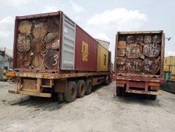 Customs unit intercepts 6 containers, arrests 2