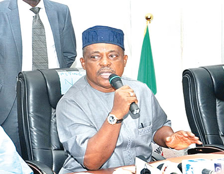 'Father Christmas' using gift to destroy PDP, Secondus alleges