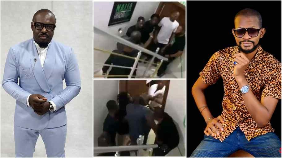 Jim Iyke Reveals Why He Beat Up Uche Maduagwu, Says It Wasn't Public Stunt [Video]