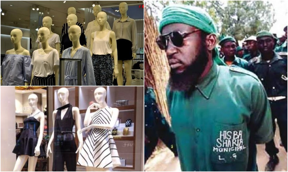 Hisbah Orders Shops In Kano To Use 'Headless ManneqKano Hisbah Orders Shops Owners To Use 'Headless Mannequin, Cover Their Breast & Hips'uin, Cover Their Breast & Hips'