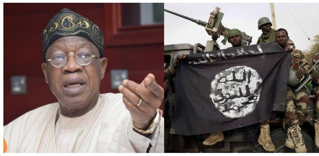 Lai Mohammed Reveals Why Buhari Won't Prosecute Repentant Boko Haram Terrorists