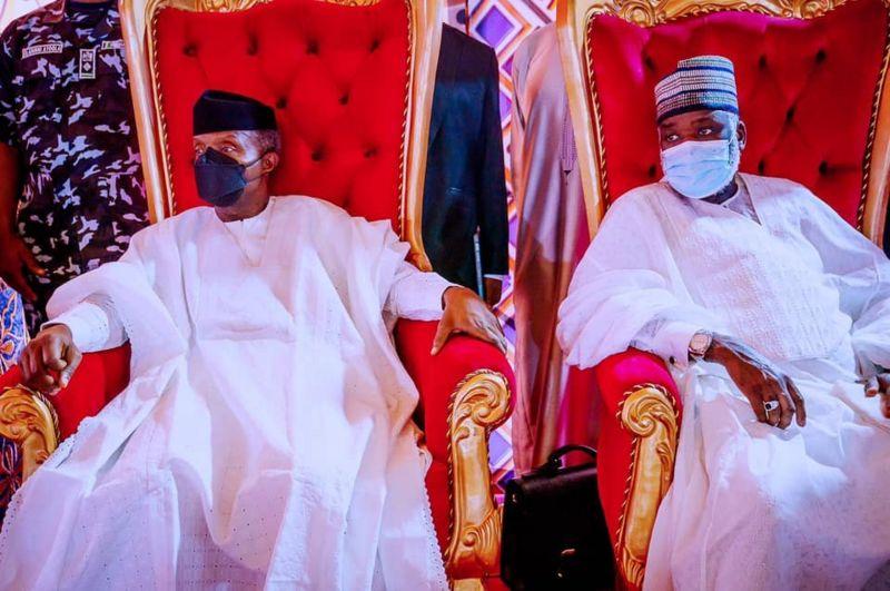 President Buhari deputy, Vice President Yemi Osinbajo