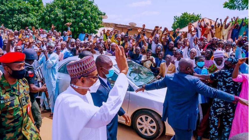 President Buhari's Son, Yusuf Weds Princess Zahra Bayero On N500k Dowry [Photos] 1