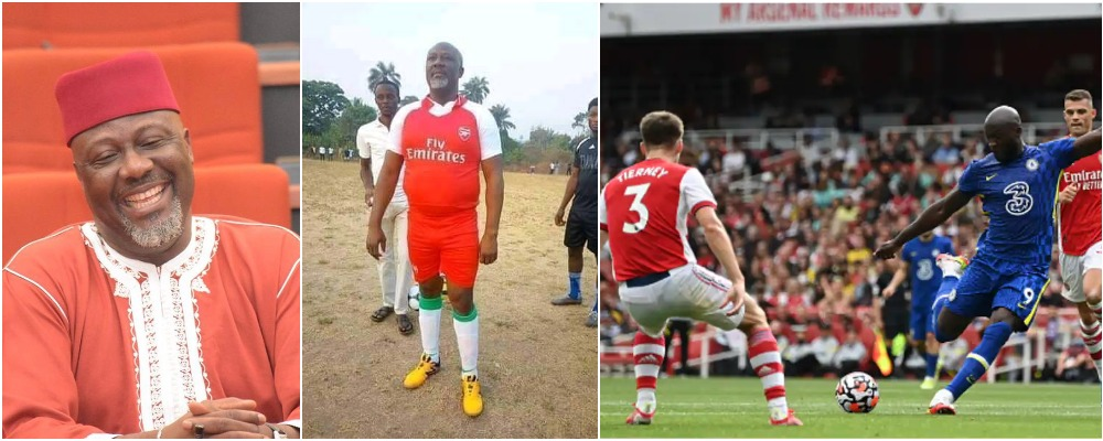 Senator Dino Melaye Trolls Arsenal, Claims Gunners Have Signed Him As New Striker