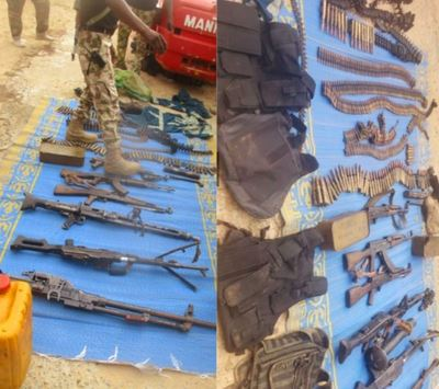 Troops Eliminate Boko Haram-ISWAP Fighters, Find Bomb Handbook, S3x Drugs