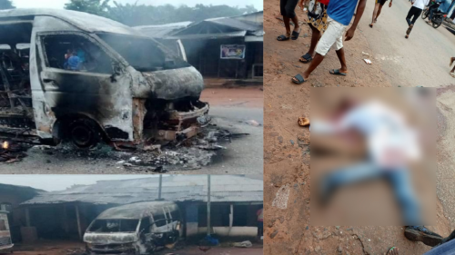 Two People Killed As IPOB's Sit-At-Home Turns Bloody In Nnewi, Anambra