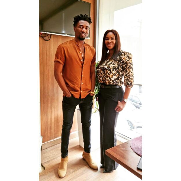 BBNaija's Boma Signs Deal With Africa International Film Festival (Photo)