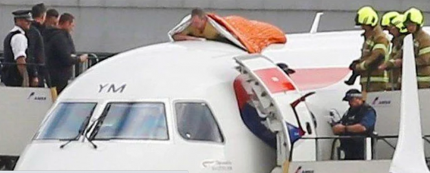 Blind Paralympian jailed for sticking himself to aircraft roof