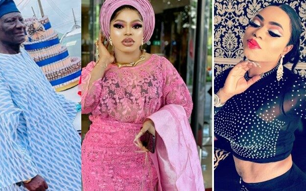 Bobrisky Finally Reveals How He Convinced His Father To Accept Him As A 'Woman'