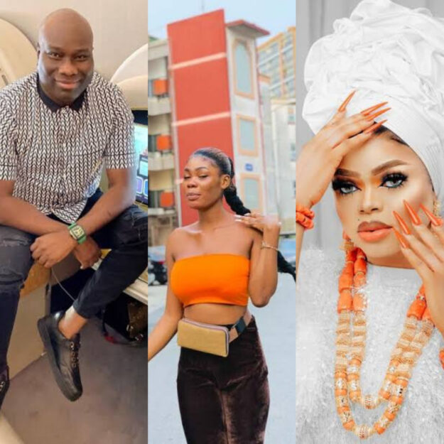 Bobrisky's Ex-PA, Oye, Reacts As Mompha Threatens To Sue Her For Alleging He And The Cross-dresser Dated