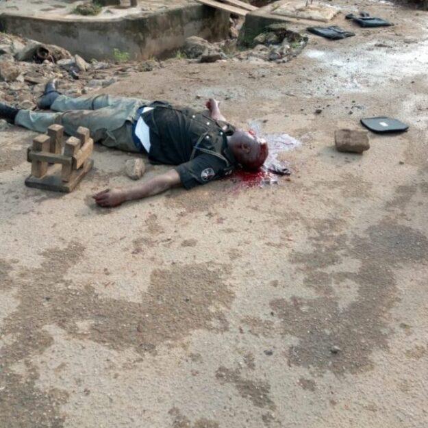 Breaking: Policeman killed as Taskforce, motorcyclists clash in Lagos