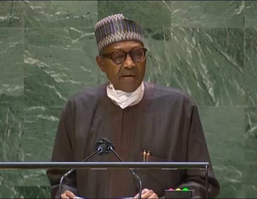 Buhari Begs World Leaders For 'Debts Cancellation' At UN General Assembly
