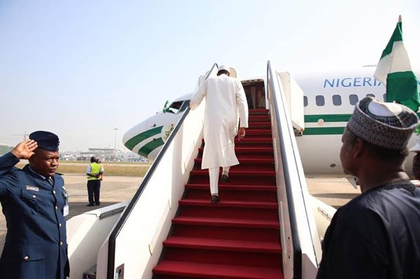 Buhari departs for US, addresses world leaders at UN 76th General Assembly