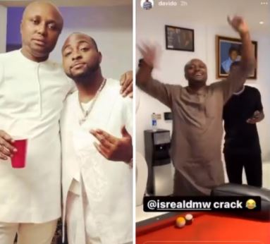 Davido Lifts Suspension Of His Logistics Manager, Israel DMW (Video)