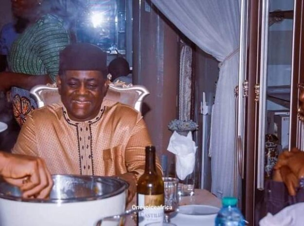 For Food Only: FFK shares more pictures of his 'palatics' after defection to APC