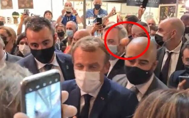 French President, Macron suffers another insider attack