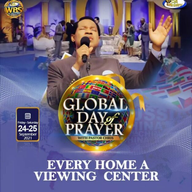 Global Day Of Prayer: A transformational change for the world from Pastor Chris