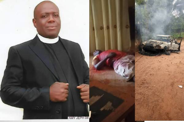 Gunmen Kill Anglican Priest, Emeka Merenu 'For Inviting Soldiers To Protect Imo school'