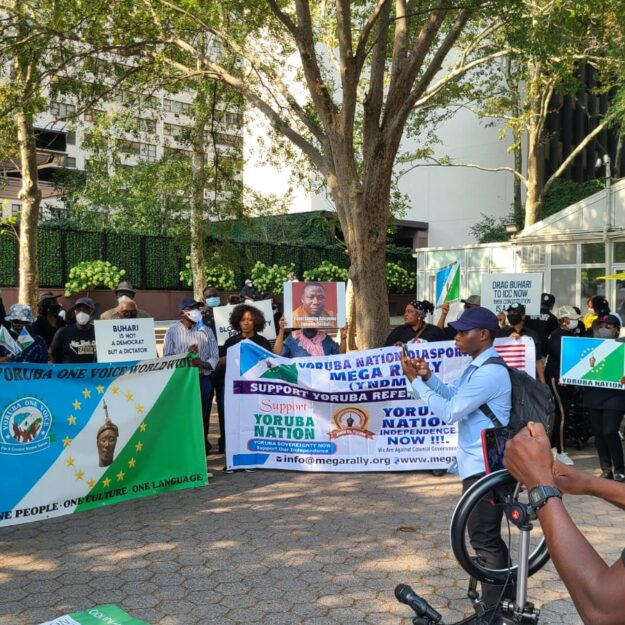 Indigenous nationalities protest at UN, warn against Nigeria's disintegration