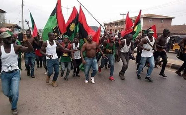 IPOB 'bans' Nigerian flag in South East, declares sit-at-home Oct 1