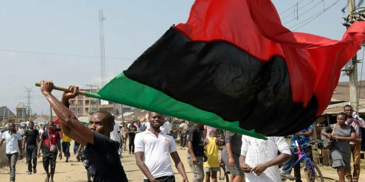 IPOB orders removal of Nigerian flag in Southeast, declares sit-at-home on October 1