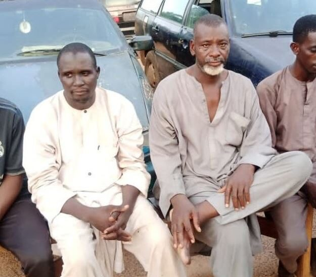 Katsina Police Arrest Foreigner And Four Others For Allegedly Supplying Fuel To Bandits