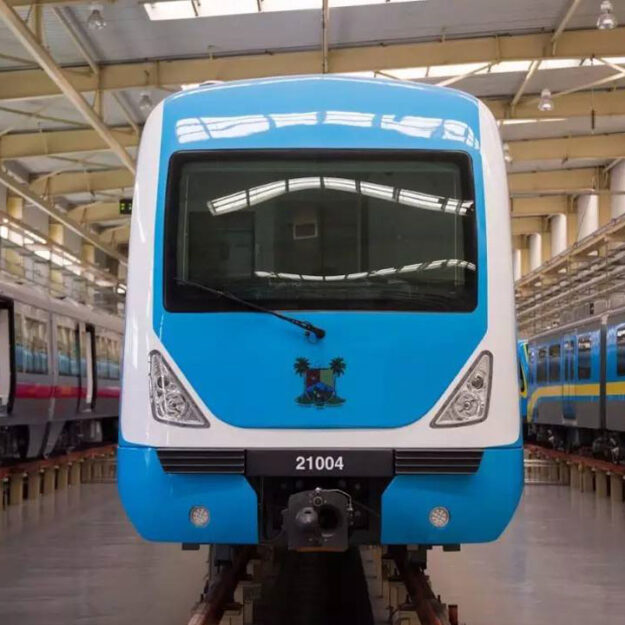 'Lagos Blue, red rail lines will be ready in 2023 1st Quarter'