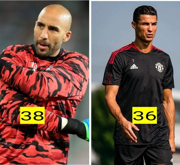 Meet the footballer in Man United's squad that is older than Ronaldo