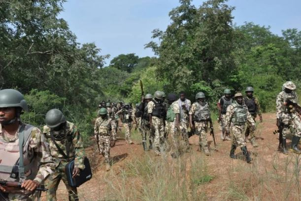 Military Invades Katsina Forest, Smokes Out Bandits, Rescues Kidnapped Victims