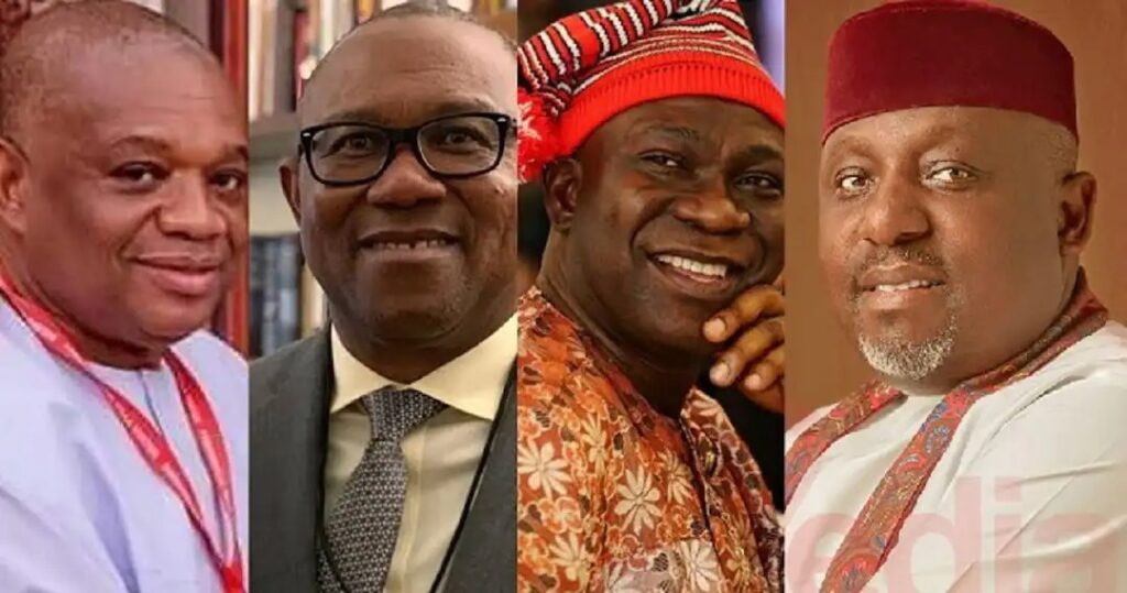 Names Of 18 Igbo Politicians Shortlisted As Potential Candidates For 2023 Presidency